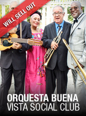 QPAC - Orquesta Buena Vista Social Club - Concert Hall, QPAC - Tickets & Dining Packages